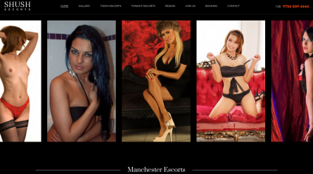 Shush Manchester Escorts